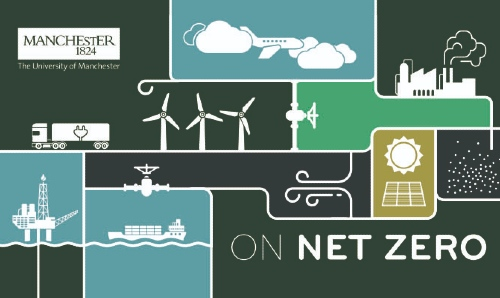 On Net Zero cover design