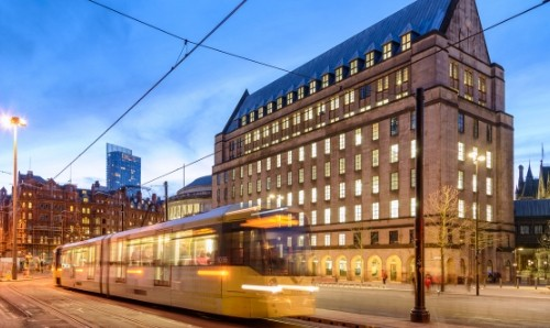 Tram in Manchester